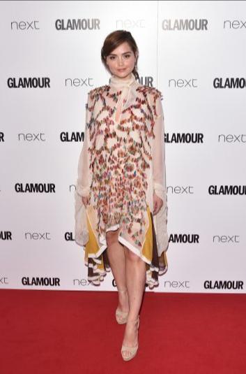 Jenna coleman sexism remarks glamour awards